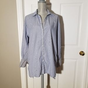 FREE PEOPLE striped button down shirt